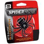 Šnúra Spiderwire Stealth Smooth 8 Červená METRÁŽ